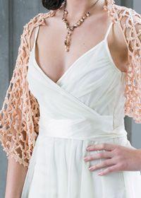 Crochet summer shawl shrug