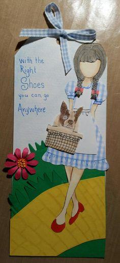 Julie Nutting paper dolls.   Dita as Dorothy