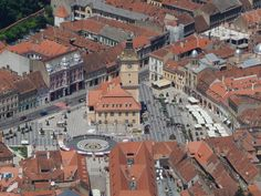 Council Square seen from Tampa, Brasov, Romania