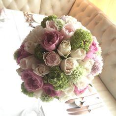 ラウンドブーケ wedding bouquet pink