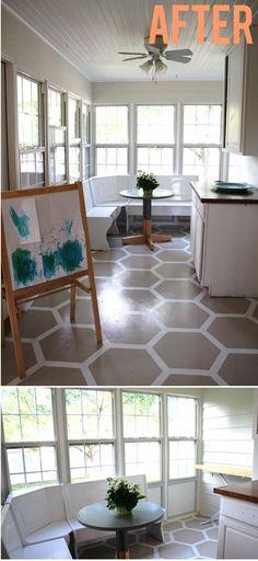 Best Paint Vinyl Floors Images Painted