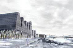 World Architecture Community News - COBE envisions Copenhagen's waterfront with a new 'Paper Island' Conceptual Architecture, Architecture Visualization, Architecture Design, Scandinavian Architecture, Conceptual Design, Architect Logo, Architect House, Masterplan, Famous Architects