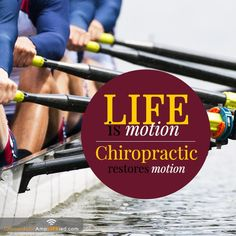 Your body was made for motion, so get moving!  This is why Chiropractic works so well.  Restoring motion is the best and easiest way to regain your health - Highlands Ranch Chiropractor