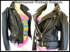 80's vintage heavy duty leather king  by RetrospectBoutique, $75.00