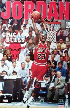 Jordan Chicago Bulls Poster