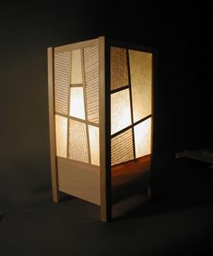 Lamp Is Made Of Rice Paper And Book Pages Great Idea With