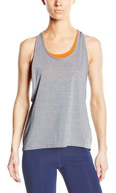 6ecd1bd090cb69 Nike Women s 2-in-1 Pro Inside Loose Tank Top at Amazon Women s Clothing  store