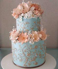 Beautiful cake decor....