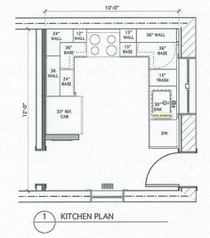 commercial kitchen design drawings - home interior design ideas
