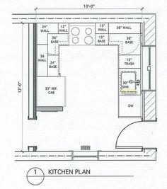 18 best small kitchen floor plans images decorating kitchen rh pinterest com