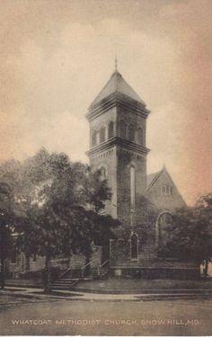 Vintage Antique Whatcoat Methodist Church, Snow Hill, MD Postcard (mm110) null http://www.amazon.com/dp/B008G3YEWS/ref=cm_sw_r_pi_dp_CKdivb0FKMG29