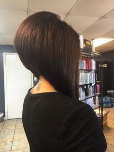 Short Stacked Bob Hairstyles Haircut