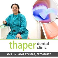 LASERS IN DENTISTRY ! - Painless and no bleeding. Now no fear of needles or blade because we don't need them ! -Reduces anxiety in patients hence more comfortable. -Preserves more healthy gums as it is a very conservative treatment. -Procedures like LASER BLEACHING, GUM SURGERIES, ULCER MANAGEMENT can we done within minutes !  BRANCHES- B 45 Sehkar marg and Shop no 325, Dhadda Market,Johari Bazar phone no- 7073478477, 2578400 #thaperdentalclinic #jaipur #dentist #saycheese #DrRajeevThaper Pain Management, Jaipur, Dentistry, Preserves, Branches, Surgery, Clinic, Dental, Blade