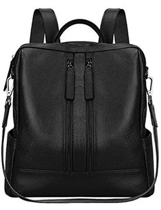 online shopping for S-ZONE Lightweight Women Genuine Leather Backpack  Casual Shoulder Bag Purse Medium from top store. See new offer for S-ZONE  Lightweight ... db31213e94432