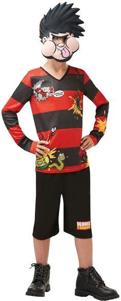 Boys Dennis The Menace Fancy Dress Costume 1 dc130d826