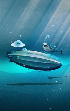 """Weird Waters"" by Schwebewwesen 