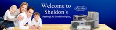 Social Media Marketing Facebook Grphics for Sheldons Heating and Air by CI Web Group