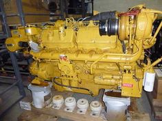 3412 Caterpillar Marine - 1250HP - DIESEL ENGINE FOR SALE - ***IN STOCK AGAIN***