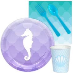 Check out Mermaids Under the Sea Snack Party Pack from Wholesale Party Supplies