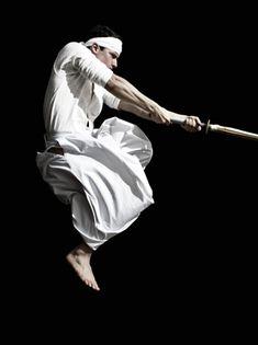♂ world Martial Arts black & white
