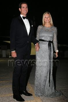 King Constantine & Queen Anne Marie 50th wedding anniversary celebrations Crown Prince Pavlos and princess Marie Chantal