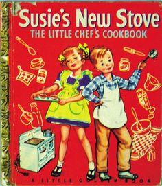 Susie's New Stove-Little Golden book