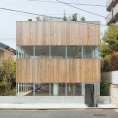Swedish studio Elding Oscarson completes Tokyo residence with a striped facade