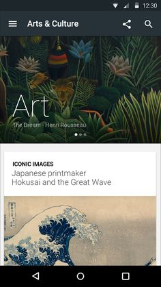 Arts & Culture Android App