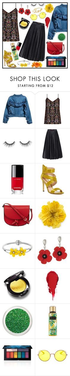 """Untitled #733"" by mizz-miranda-lynn1993 ❤ liked on Polyvore featuring City Chic, tarte, Jolie Moi, Chanel, Nicole Miller, KC Jagger, Gucci, Smashbox, Ray-Ban and Sydney Evan"