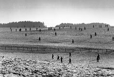 BELGIUM. W.W.II. Ardennes. Battle of the Bulge.  Near Bastogne. December 23rd, 1944. US soldiers.
