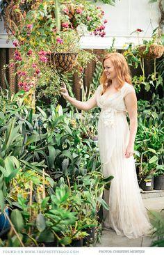 Greenhouse Wedding | Styling: The Pretty Blog, Photography: Christine Meintjes  Elizabeth Niehaus.