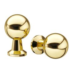 IKEA - BAGGANÄS, Knob, brass color, , BAGGANÄS is a modern knob with clean lines. It comes in black, brass and stainless steel, so you can choose the one that suits your taste and home best.You can vary the expression as you like by using the knob as it is or together with the included washers.