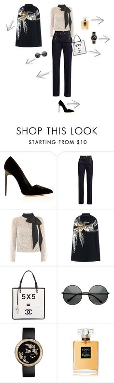 """mel"" by cpl2016melvin on Polyvore featuring mode, RED Valentino, Victor Xenia, Barbara Bui, Chanel en ZeroUV"