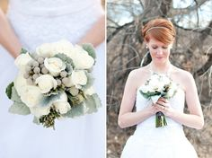 Beautiful Winter Bouquets for Weddings