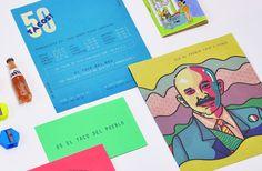 50 Tacos Branding and Interior Design by Estudio Yeyé
