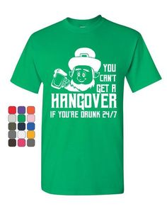 570c104d St. Patrick's Day Funny T-Shirt Irish Leprechaun, Mens Tee Shirts, Funny