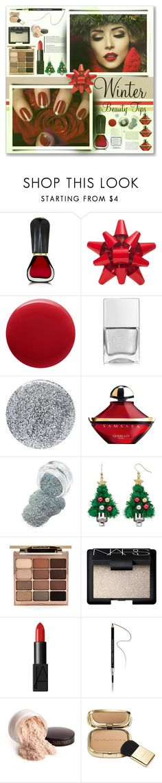 """Winter Beauty"" by cowseatchard ❤ liked on Polyvore featuring beauty, Oribe, Martha Stewart, Nails Inc., Smith & Cult, Guerlain, Stila, NARS Cosmetics, Givenchy and Laura Mercier"
