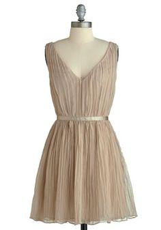 Crinkled Confection Dress, #ModCloth