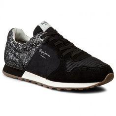 Sneakersy PEPE JEANS - Verona W Break PLS30369 Black 999