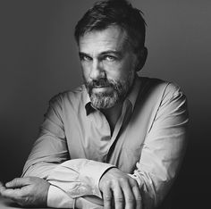 Christoph Waltz magazine photoshoot #hollywood