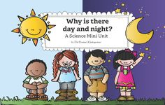 FREE! A nonfiction story to explain why we have day and night. This mini unit also includes activities and worksheets!