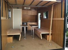 Image result for Cargo Trailer Conversion Floor Plans