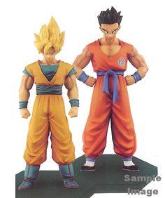 DRAGON BALL Z Figure Chouzoushu Vol. 5 SS Goku, Yamcha 2pcs Banpresto /PSL