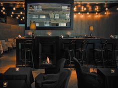 cigar bar interior   La Table du 8   French Restaurant, Cigar Bar and Lounge, 8e ...