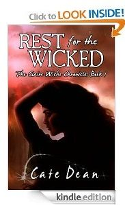 Free Kindle eBook: Rest For The Wicked - The Claire Wiche Chronicles Book 1  Author: Cate Dean Genre: Suspense (Paranormal) Price: $0.00 (April 19 - 23 only)