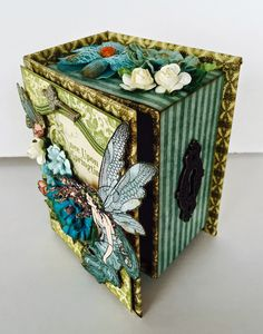 Jan 2015 G45 Once Upon A Springtime Book Box Tutorial: Paperiah