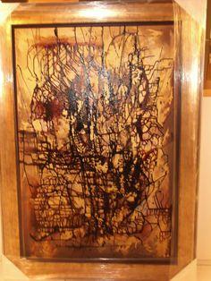 Arte....Paixão de Cristo....técnica mista sobre tela