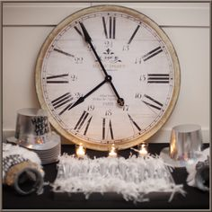 Apartment clock – bedroom large blue decorating ideas for teenage girls porcelai… - New Years Eve İdeas New Years Wedding, New Years Eve Weddings, New Years Eve Party, Our Wedding, Wedding Ideas, Wedding Bells, Wedding Stuff, Dream Wedding, Wedding Inspiration