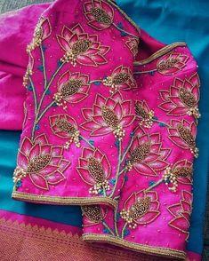 Best Blouse Designs, Blouse Designs Catalogue, Simple Blouse Designs, Silk Saree Blouse Designs, Stylish Blouse Design, Bridal Blouse Designs, Blouse Neck Designs, Zardosi Embroidery, Maggam Work Designs