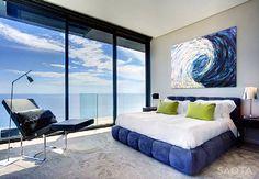 Modern Beach House Bedroom